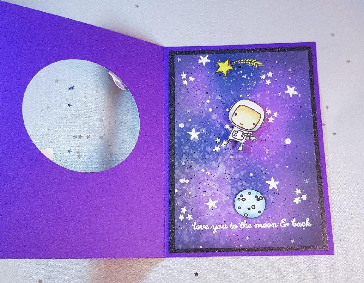 Purple Astronaut Inside
