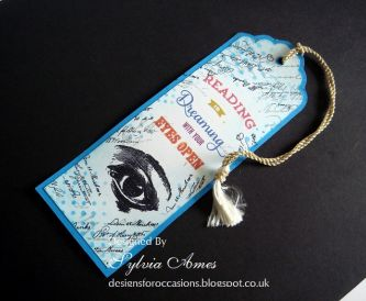 Handmade Bookmark Idea - Reading Is Dreaming With Your Eyes Open