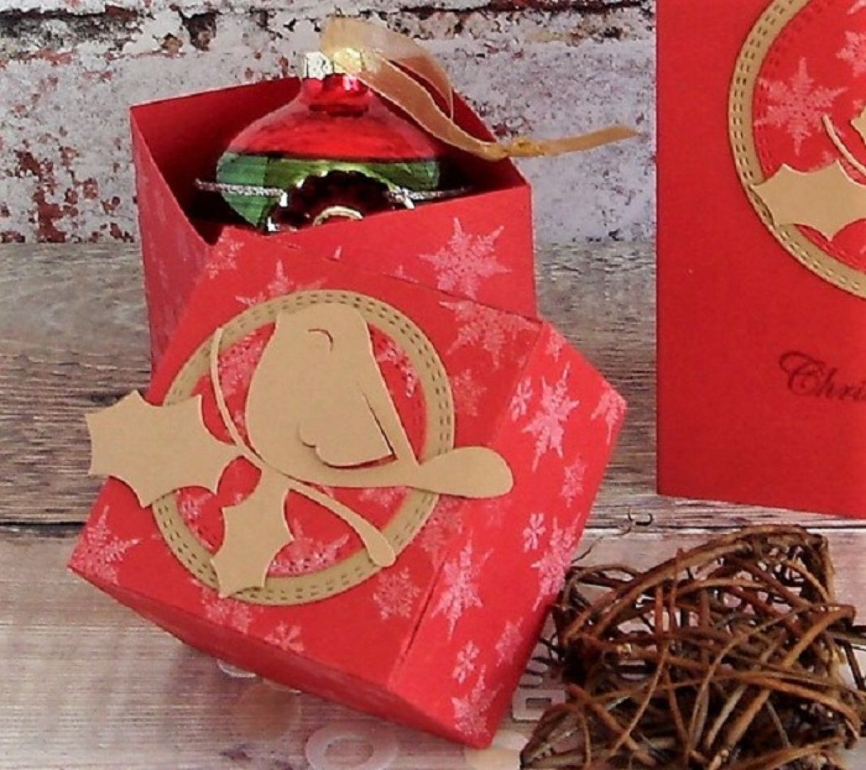 Robin Gift Box And Card1