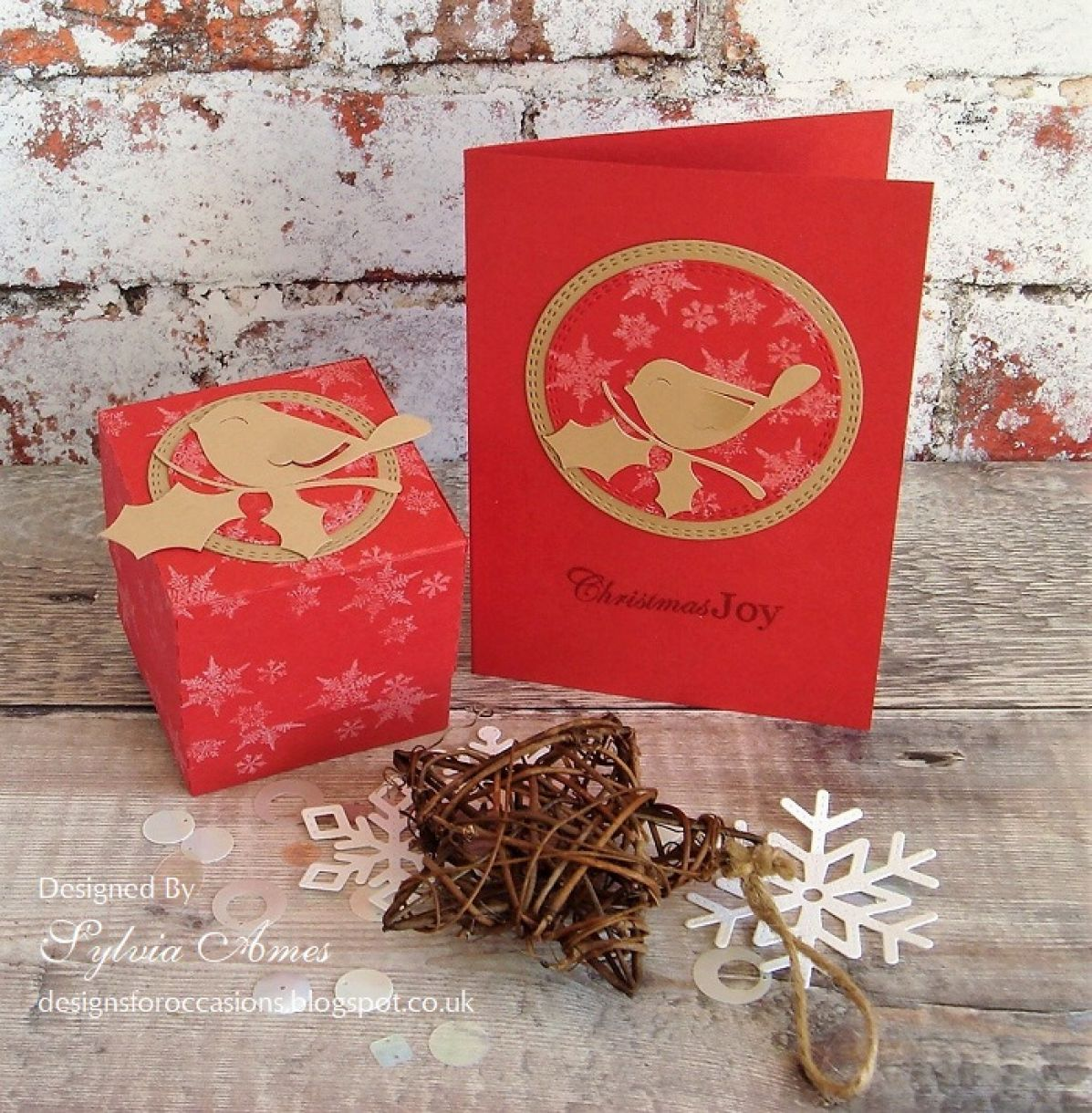 Robin Gift Box And Card2