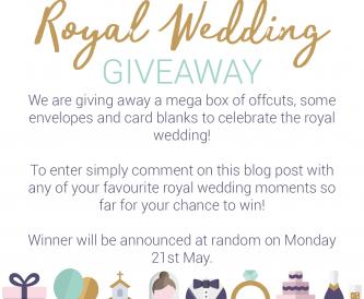 Royal Wedding Giveaway!