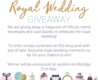 Royal Wedding Giveaway!