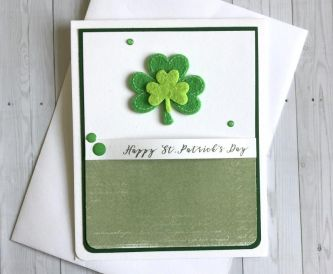 Quick and Easy St. Patrick's Day Cards