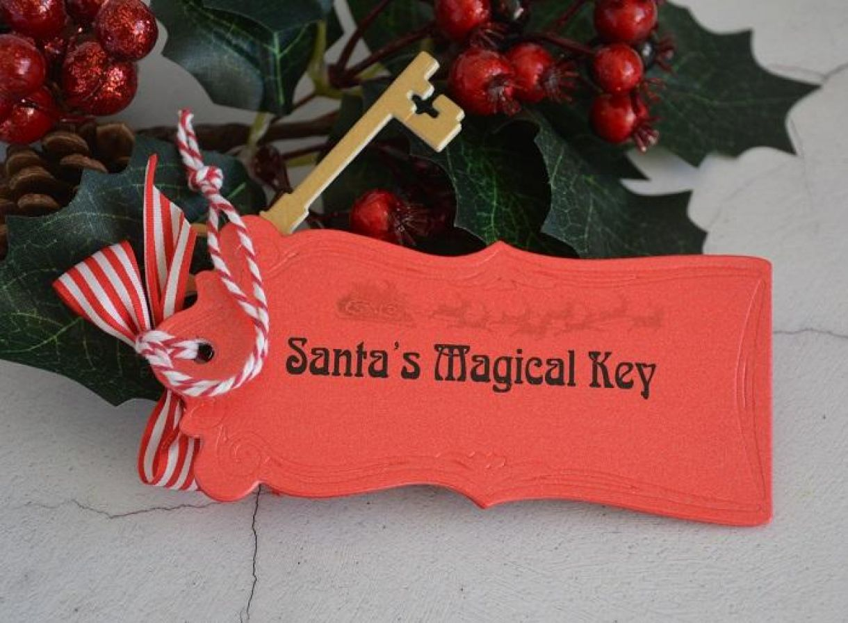Santas Key Tag Tutorial 6