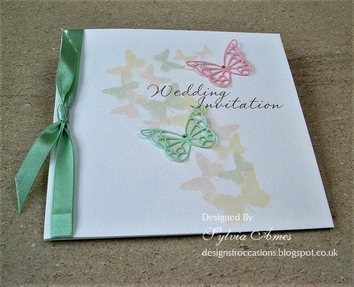 Spring Wedding Stationery 1