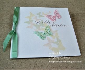 Pretty Pastel Spring Wedding Stationery