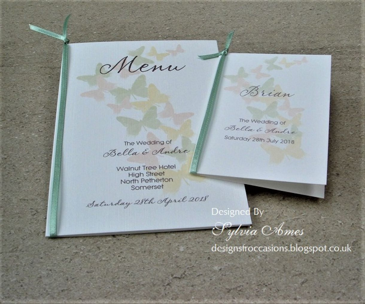 Spring Wedding Stationery 2