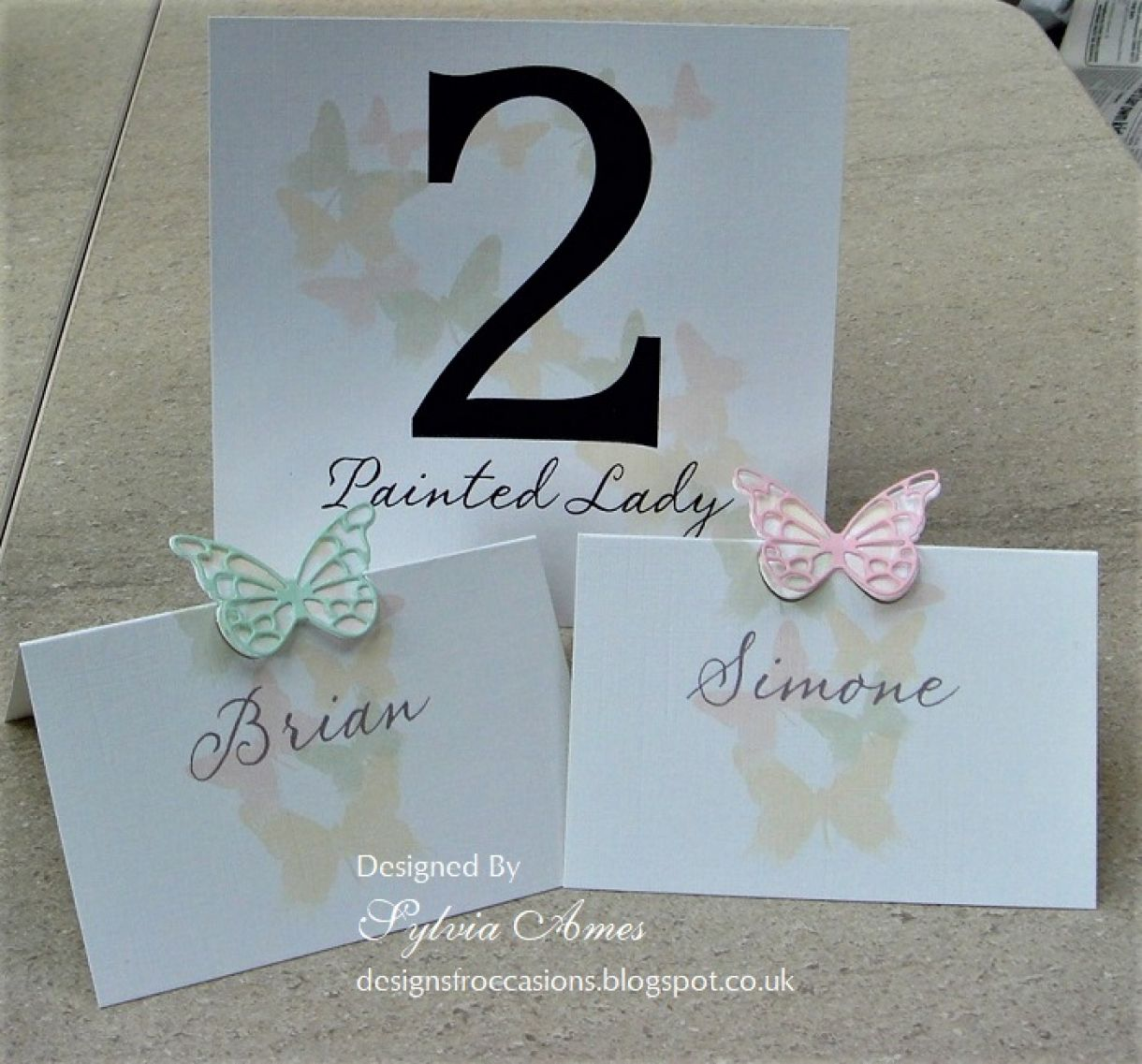 Spring Wedding Stationery 4
