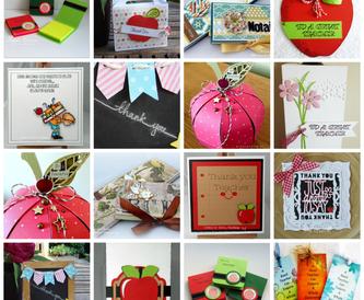 Teachers Gift Cards and Ideas!