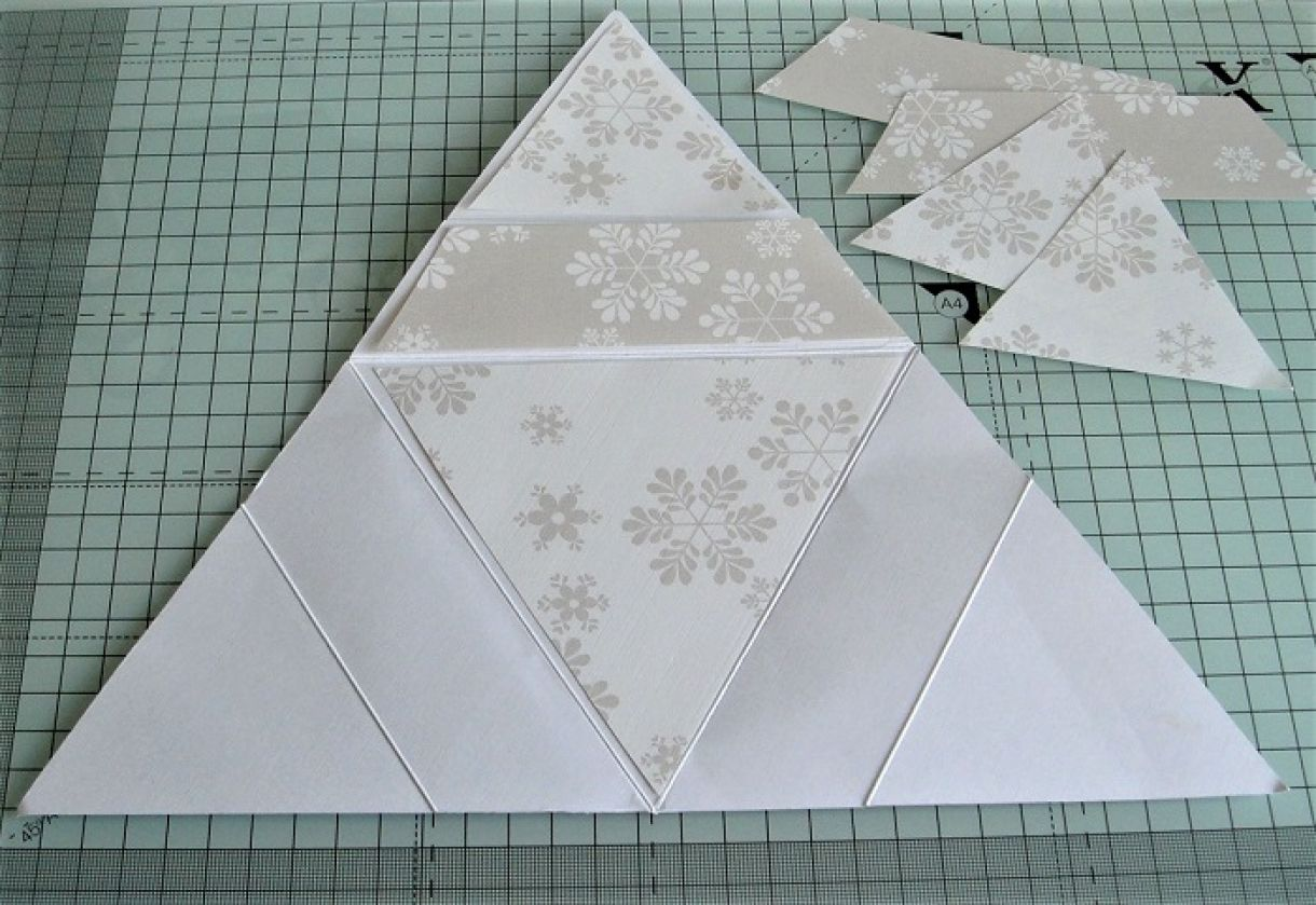 Triangle Star Card Tutorial 2