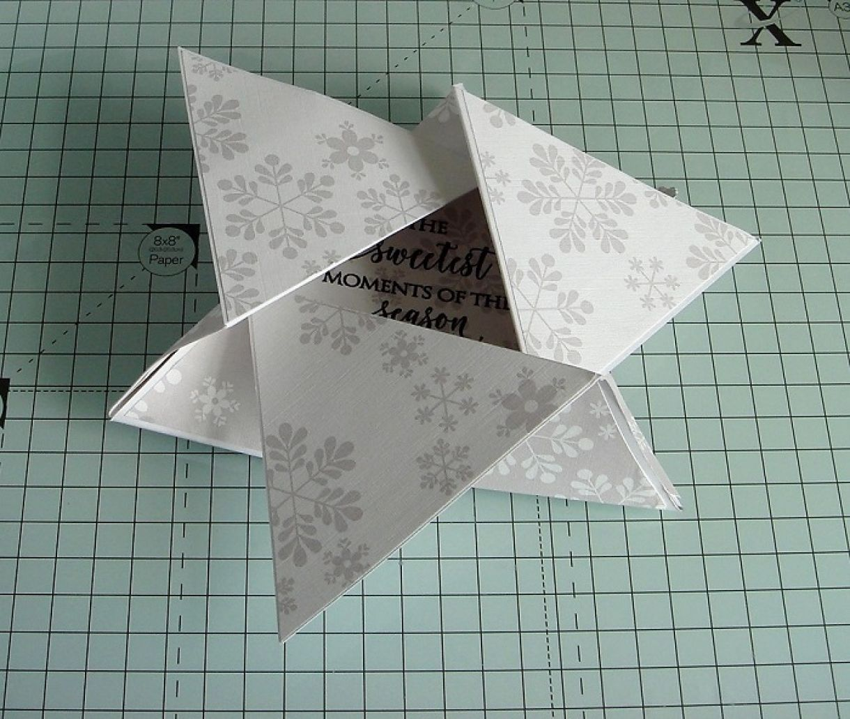 Triangle Star Card Tutorial 5