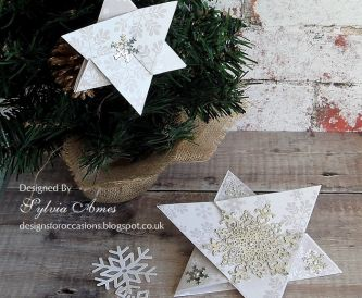 Triangle Star Fold Christmas Card Tutorial