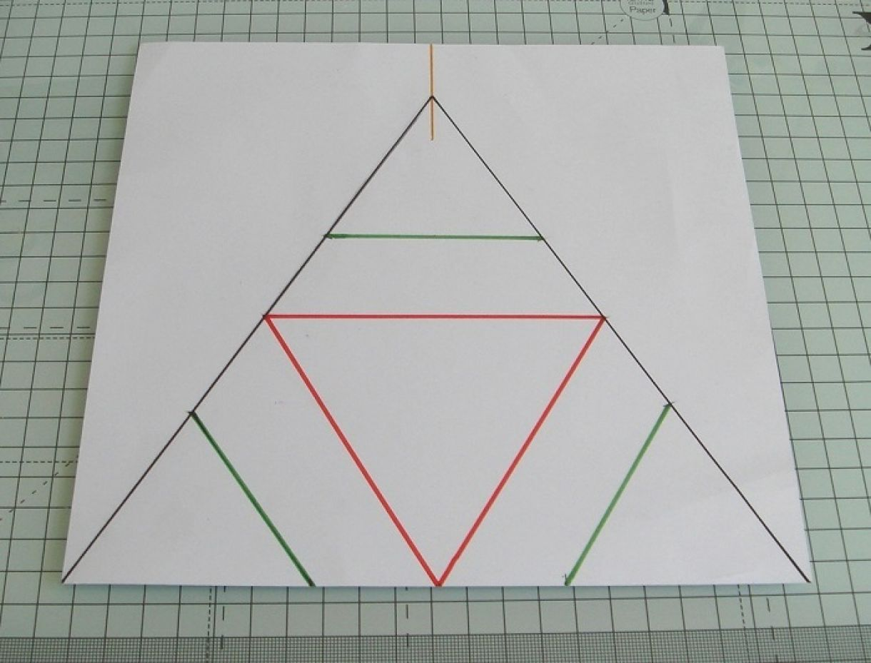 Triangle Star Card Tutorial
