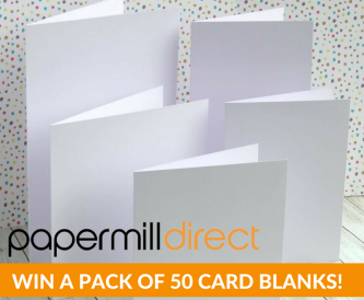Win a pack of 50 card blanks!