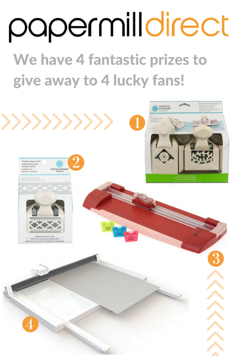 We Have 4 Fantastic Prizes To Give Away To 4 Lucky Fans!