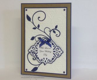 A Handmade Wedding Card Tutorial