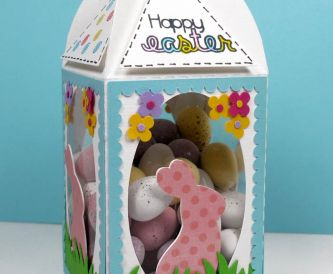 Mini Easter Egg Treat Box
