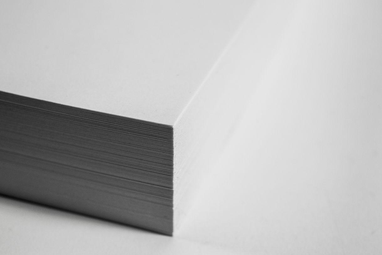 White Paper Block