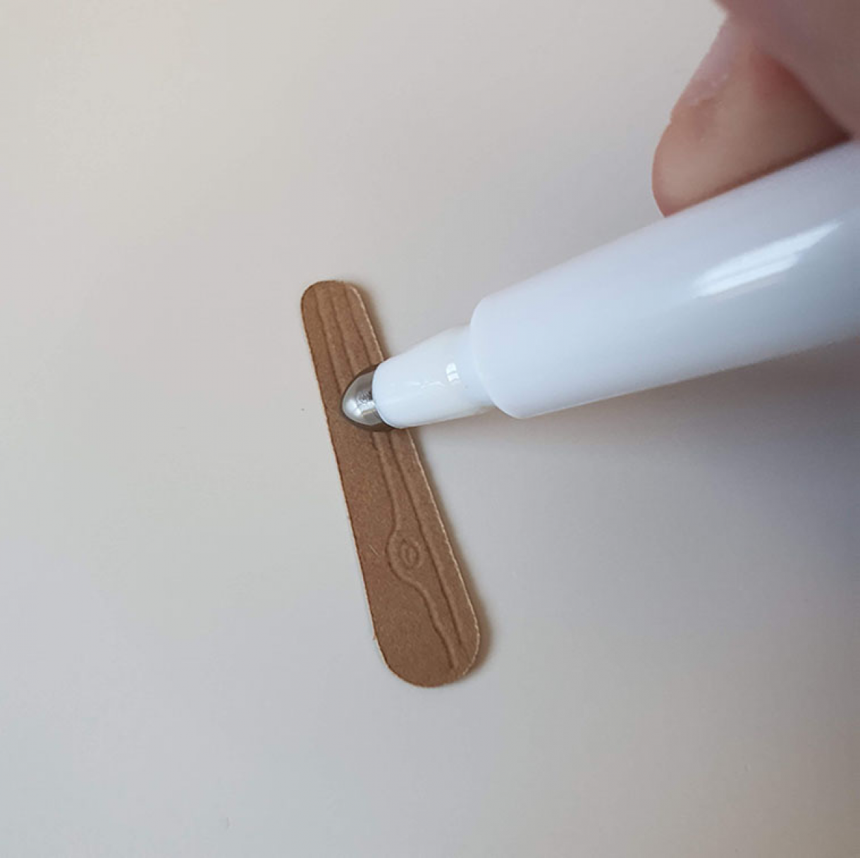 BFN - Score a wood grain effect