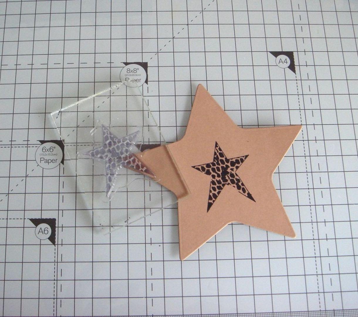 Your A Star Die Cut Card 3