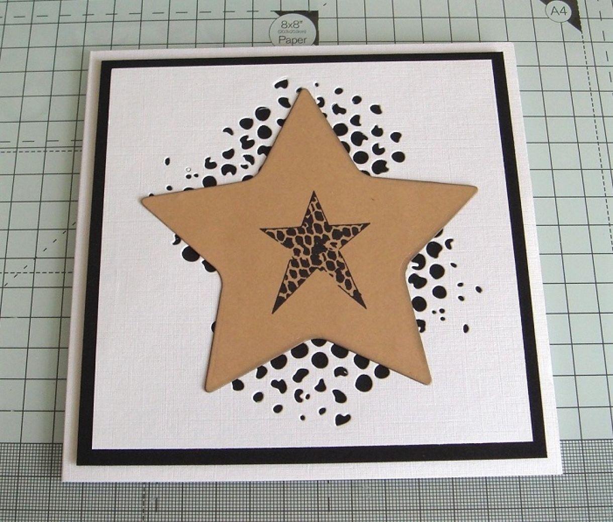 Your A Star Die Cut Card 4