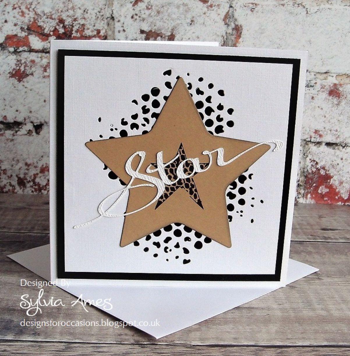 Your A Star Die Cut Card 7
