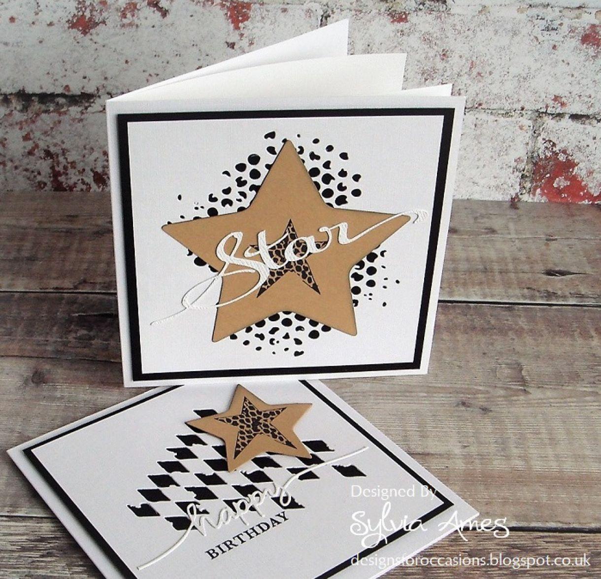 Your A Star Die Cut Card 8