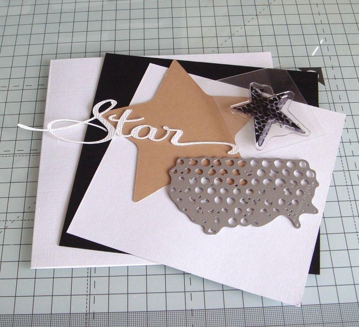 Your A Star Die Cut Card