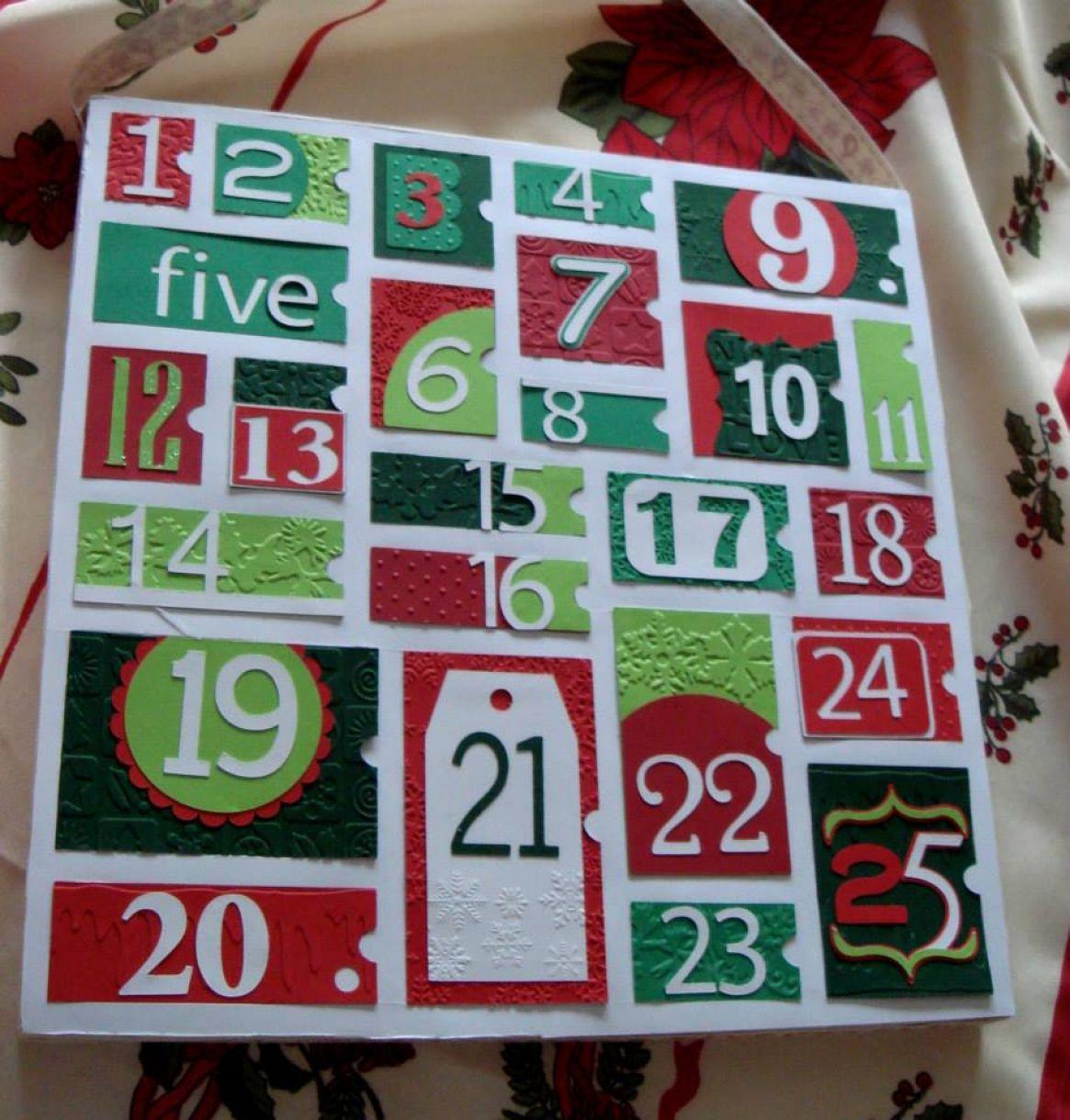 Advent Calendar Idea Diy 1