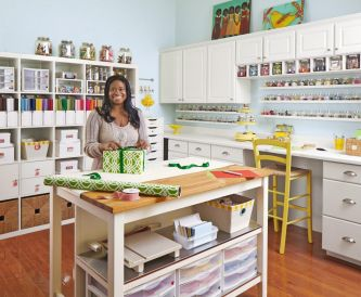 Craft Room Inspiration - Is this the most organised Craft Room Ever?