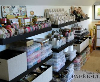Amazing Craft Room! - Paperlust