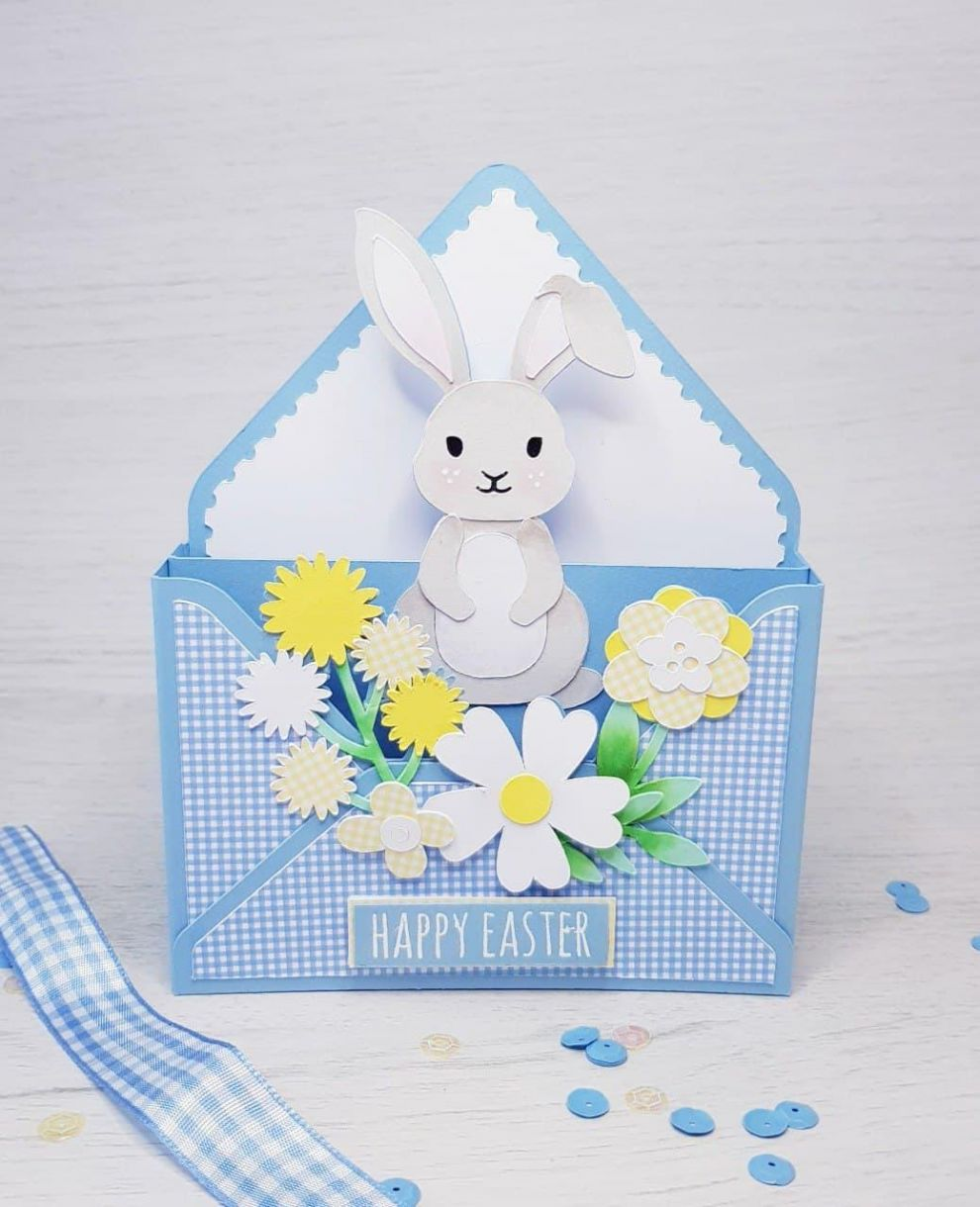 Apb Easter Bunny Envelope Card Front Main
