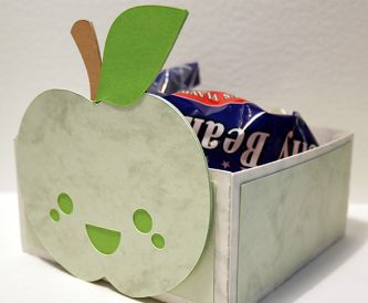 Cute Apple Teacher Gift Box