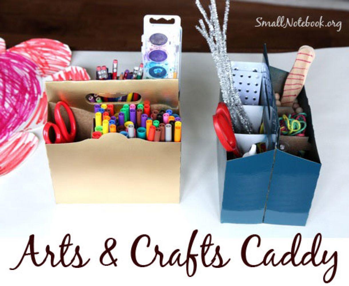 Arts Crafts Caddy