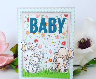 A Sweet Baby Card