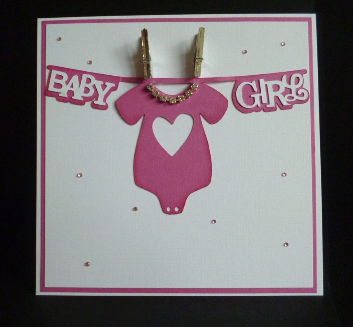 New Baby Girl Gift Ideas Uk : New baby handmade card ideas and inspiration