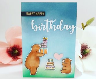 A Bear Birthday Card