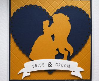 Disney Themed Wedding Card