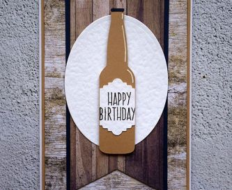 How To Make A Birthday and Brew Card
