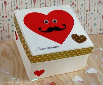 Be Mine -  Fun Valentine Gift Box Idea