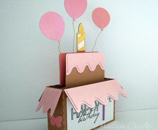 Handmade Card Idea - Silhouette Birthday Box