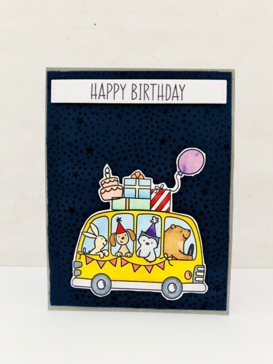 Hello Today I Will Show You How To Make A Boys Birthday Card With Some Embossing For Fun Texture Background