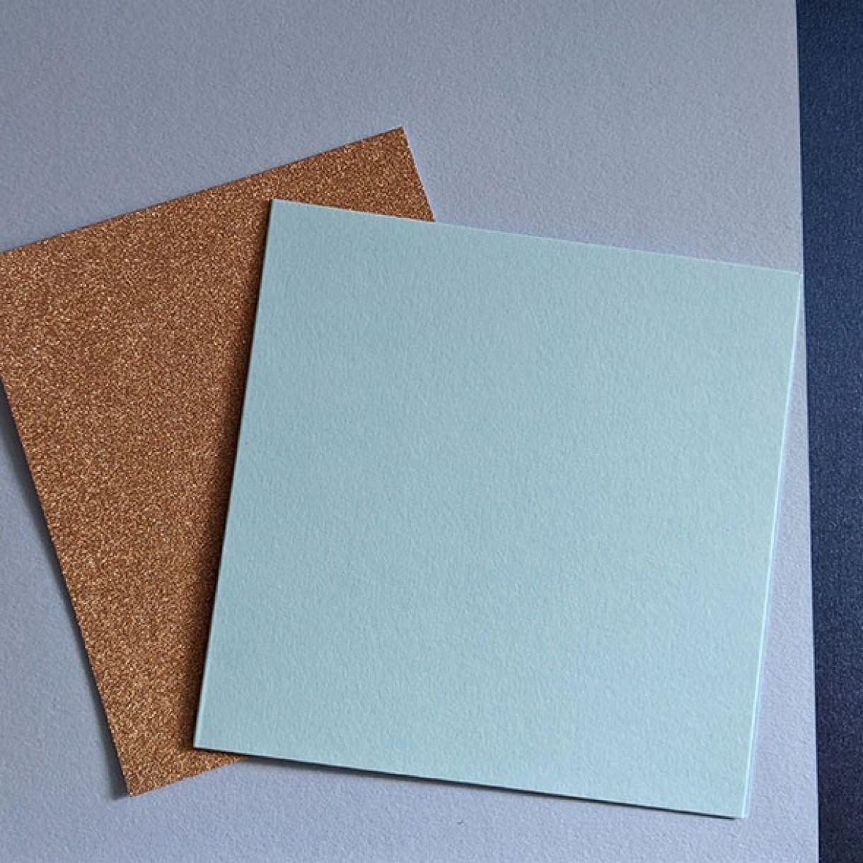 Blue Aqua Banners Card Nm 1