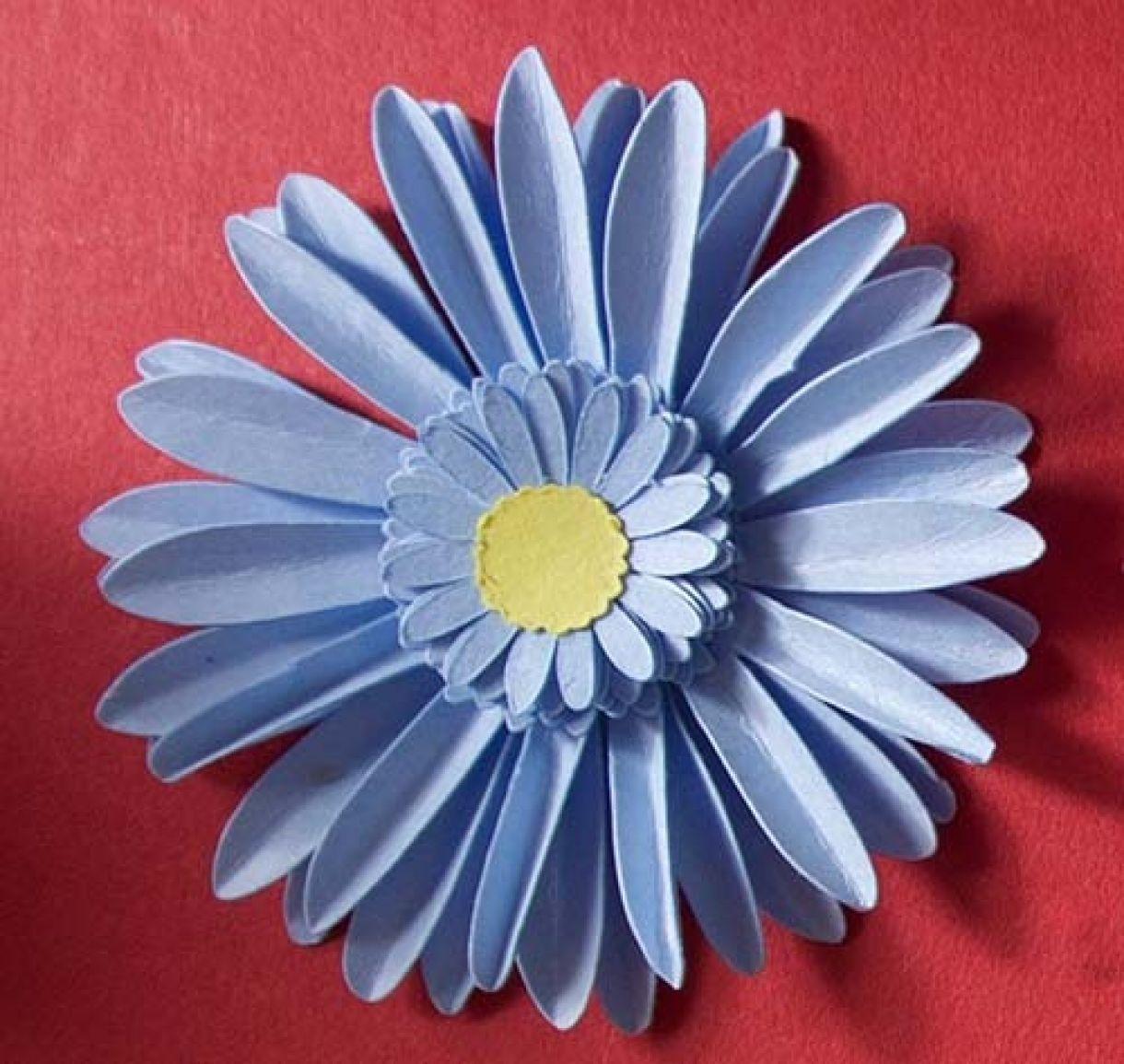 Bluepapergerbera