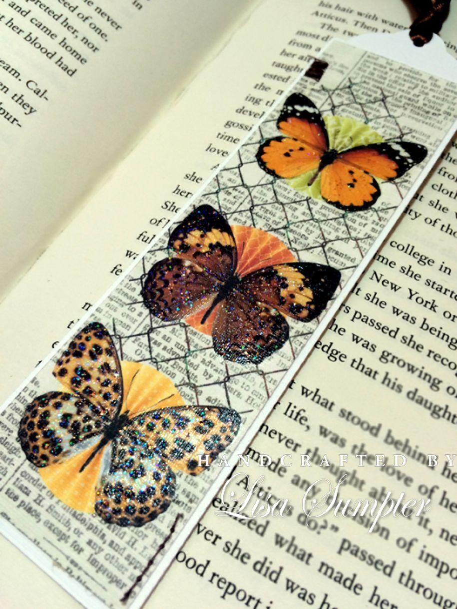 Butterfly Bookmark Idea