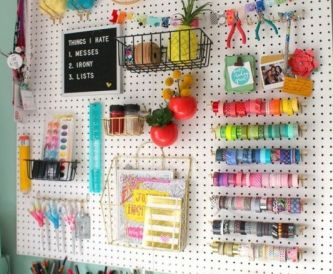 Craft Room Space Saving Ideas