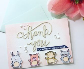 A Sweet Thank You Card