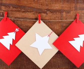 How to Make Christmas Cards with Little Time and Budget