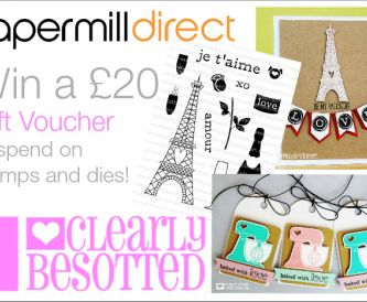 Win a £20 Gift Voucher to spend on Stamps and Dies!