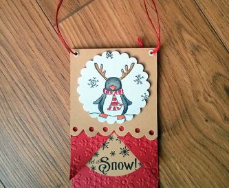 Christmas Gift Tag Idea - Let It Snow!
